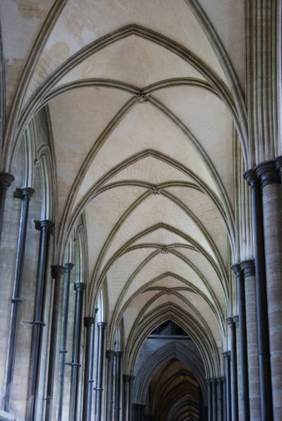 Sailsbury Cathedral Arch